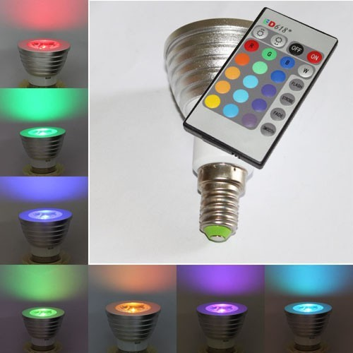 LED lamp incl. afstandsbediening